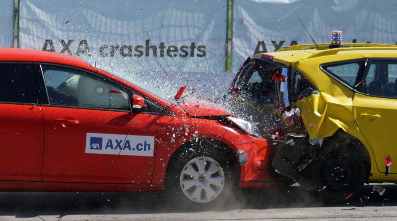 car crash making write off