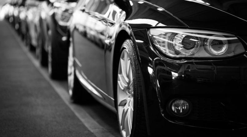 Business cars awaiting defleet