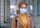 Person preventing coronavirus effects