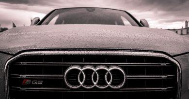 Audi close up