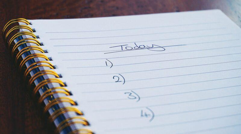 pre mot checklist on paper