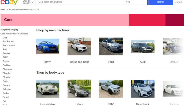 car buying on ebay