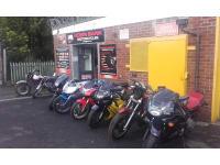 Robin Bank Motorcycles logo