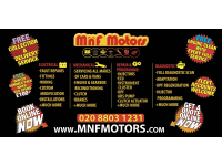 MnF Motors Electrical & Mechanical Repairs logo