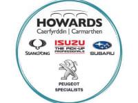 Howards of Carmarthen - Isuzu, Subaru & Ssangyong logo
