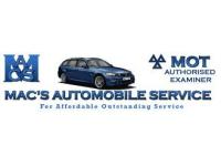 Mac's M O T's Windlesham logo