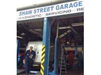 Shaw Street Garage logo