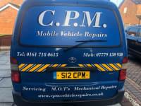 CPM Mobile Vehicle Repairs logo