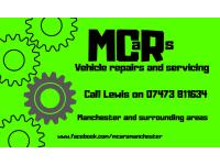 MCARs Mobile Car Repairs & Servicing logo