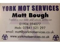 York MOT Services logo